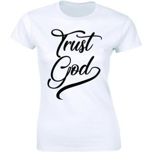 Trust God - Christian Religious Faith T-shirt Tee